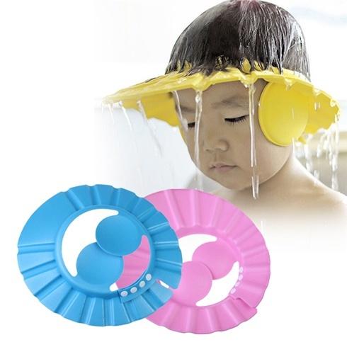Mũ gội đầu chắn nước cho bé