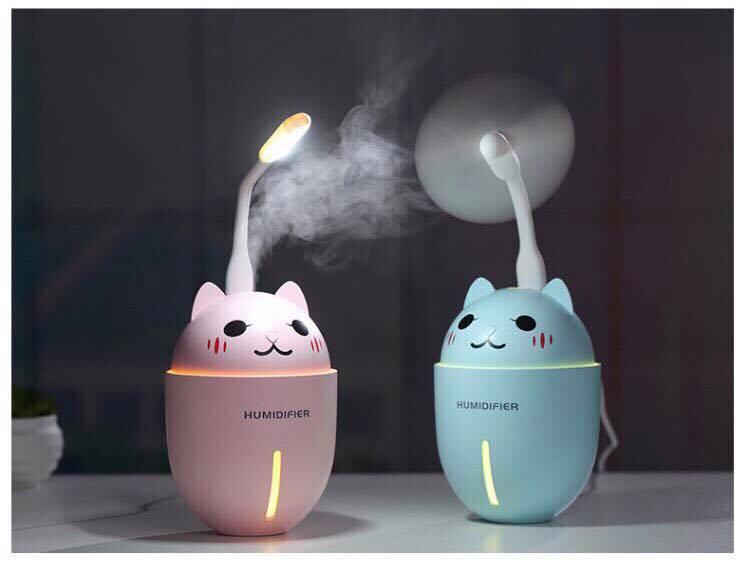 Phun sương 3 in 1 hình mèo