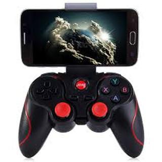 Tay cầm chơi game kèm giá đỡ điện thoại Gamemax Terios T3