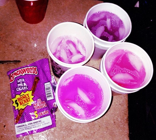 purple drank la gi