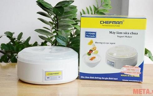 Máy Làm Sữa Chua Chefman 8 Cốc Nhựa CM-302