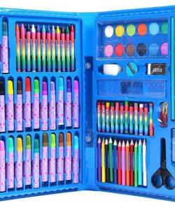 Hộp bút chì màu 86 món cho bé 1