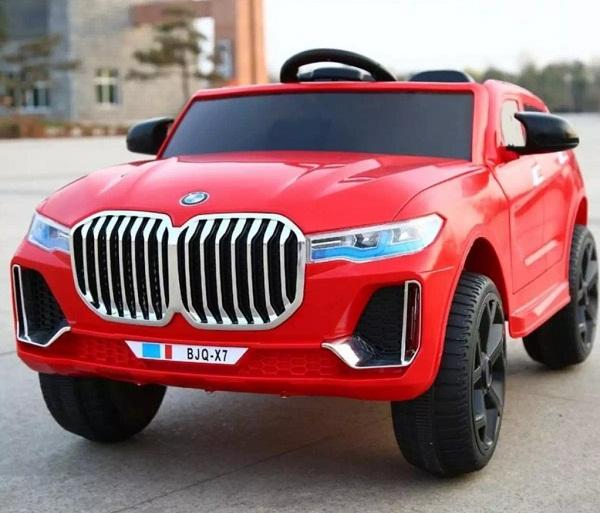 Xe Ô Tô Điện Cho Bé Dáng BMW X7 2 có Điều Khiển từ xa 2 động cơ Siêu Khỏe