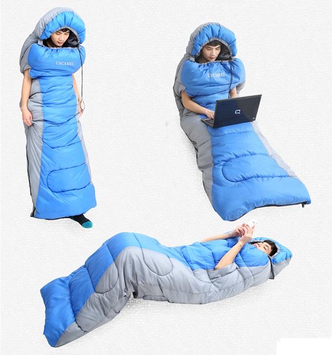 Túi ngủ văn phòng cao cấp USCAMEL chống thấm nước loại dày