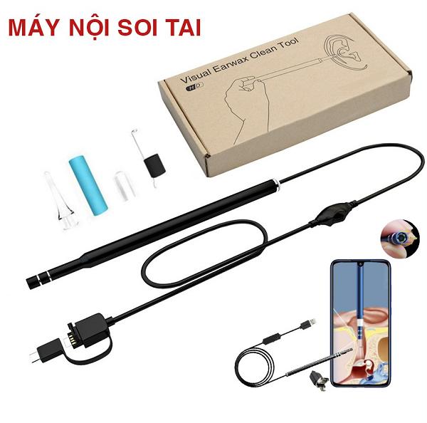 Dụng cụ lấy ráy tai tích hợp camera mini visual earpick – lấy ráy tai cổng USB Đa năng