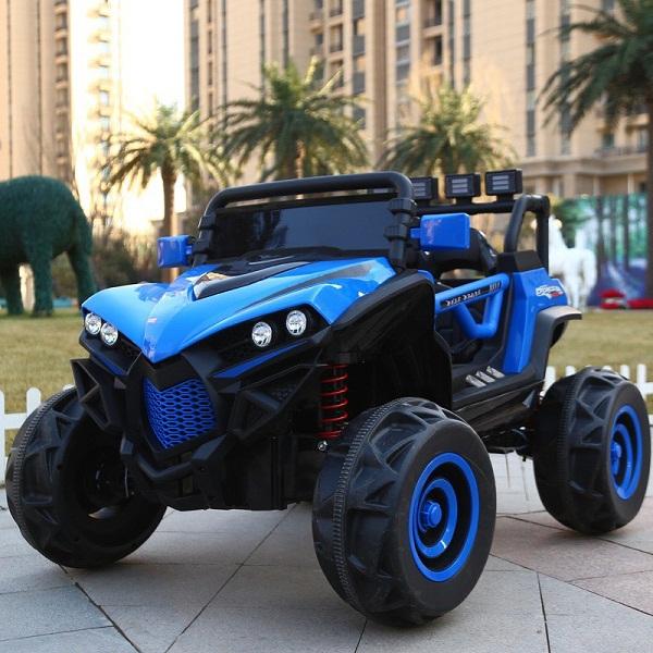 Xe Ô tô điện trẻ em 2 chỗ ngồi siêu xe địa hình 4 động cơ XJL-588 Bảo hành 6 tháng