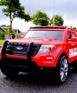 Ô tô xe điện cảnh sát YH-811 1