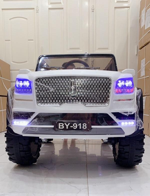 Ô tô điện trẻ em Lincoln BY918 phong cách Hoàng Gia 4 động cơ mạnh mẽ Full option