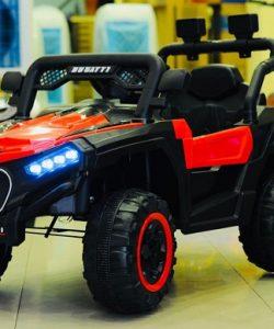 Xe ô tô điện địa hình MDX 909 hầm hố cho bé trai