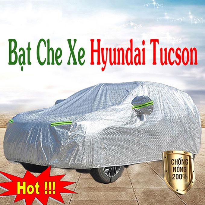 Bạt phủ Hyundai Tucson 3 Lớp Cao Cấp – Áo Trùm xe Chống Nóng Chống Thấm Tuyệt Đối