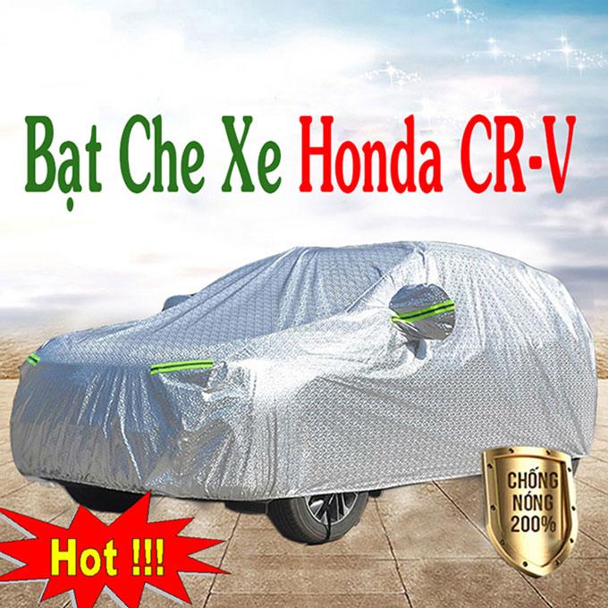 Bạt phủ Honda CRV 3 Lớp Cao Cấp – Áo Trùm xe Chống Nóng Chống Thấm Tuyệt Đối