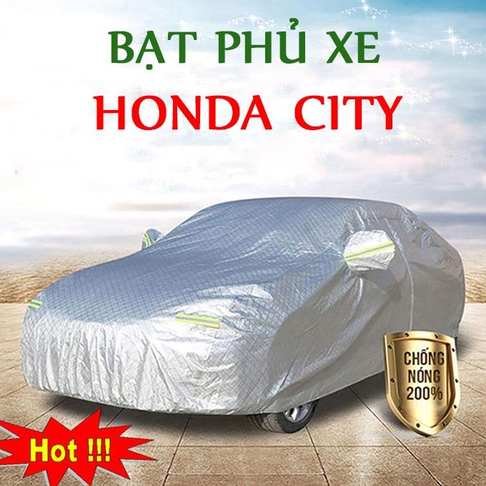 Bạt phủ Honda City 3 Lớp Cao Cấp – Áo Trùm xe Chống Nóng Chống Thấm Tuyệt Đối