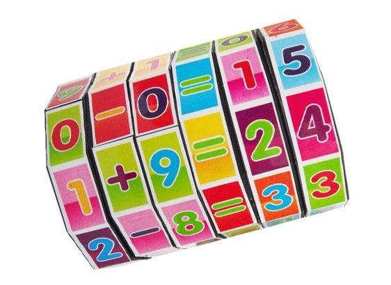 Rubic toán học xoay cho bé luyện trí nhớ