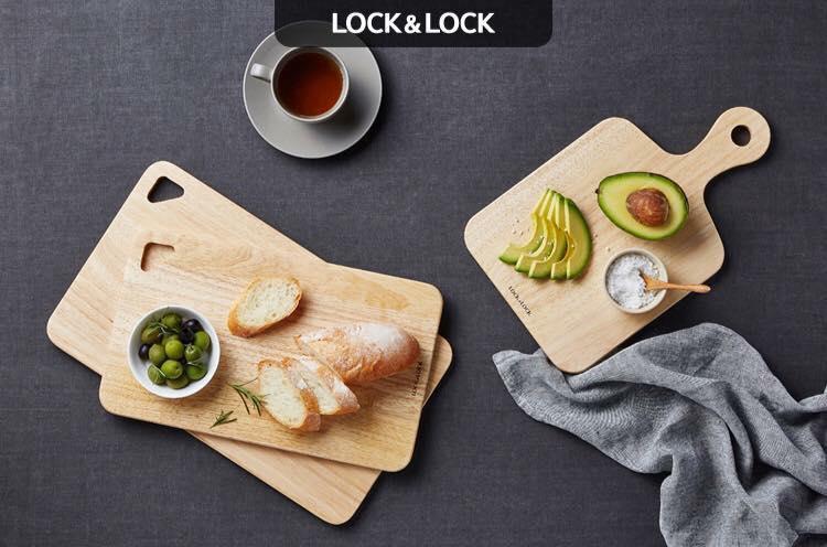 Bộ 3 thớt gỗ Lock & Lock