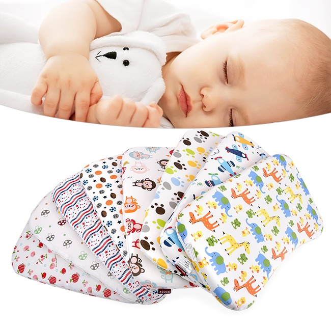 Gối cao su non chống lõm đầu cho bé