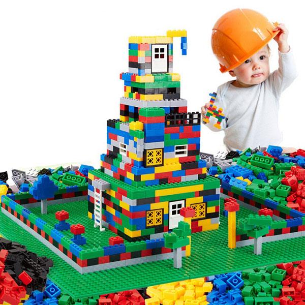 Bộ xếp hình LEGO 1000 chi tiết cho bé