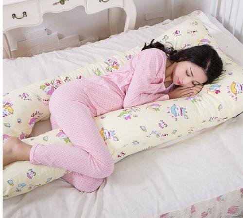 Gối chữ U đa năng cho bà bầu và em bé giấc ngủ ngon