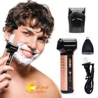 Máy cạo râu cắt tóc tỉa lông mũi 3 trong 1 Boteng BT-T1-D