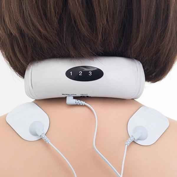 Máy massage cổ xung điện 3d 2 miếng dán