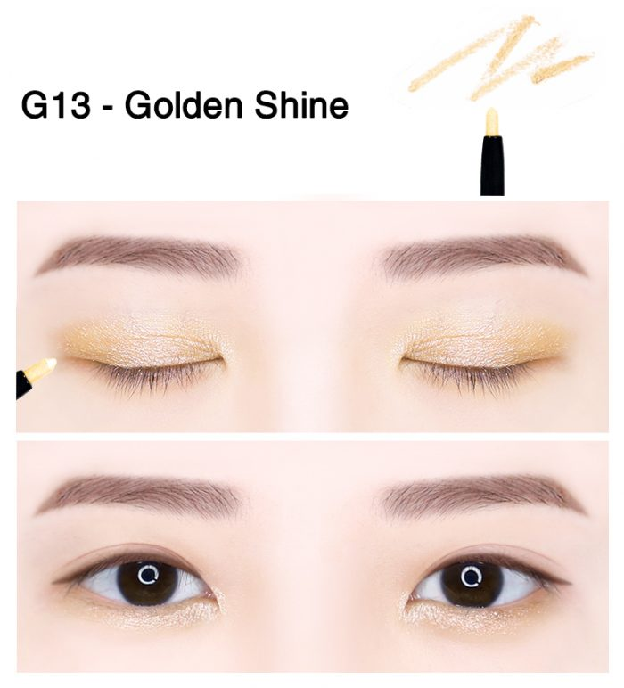 GEL KẺ MẮT SHINY WATERPROOF MINI WEAR GEL PENCIL LINER