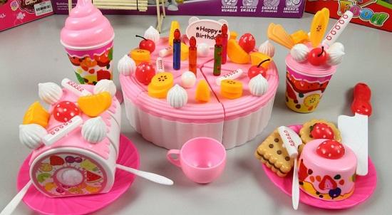 Bộ Đồ Chơi Chia Bánh Sinh Nhật