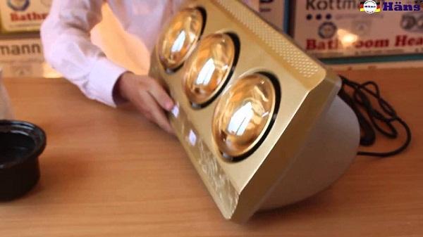 Đèn sưởi 3 bóng Kottmann cao cấp