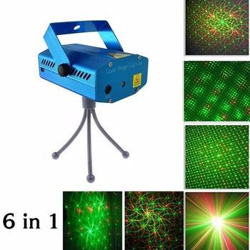 Đèn Chiếu Lazer Mini Chớp Theo Nhạc trang trí tết