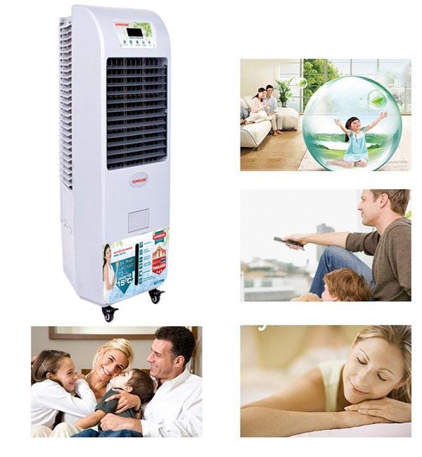 Quạt điều hòa không khí SUNHOUSE SHD7735 – (45m2)