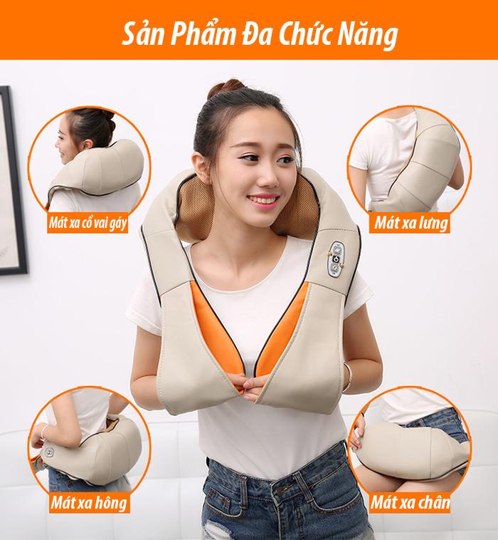 Đai massage hồng ngoại đa năng Neck Kneading