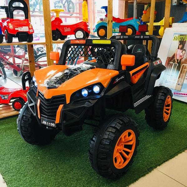 Xe Ô tô điện trẻ em địa hình JM-1199 với 5 động cơ cực khỏe Bảo Hành 6 tháng