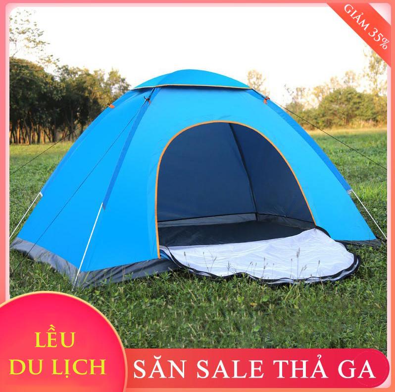 Lều cắm trại tự bung 3 đến 4 người lều dã ngoại Travel House Bảo Hành 12 tháng