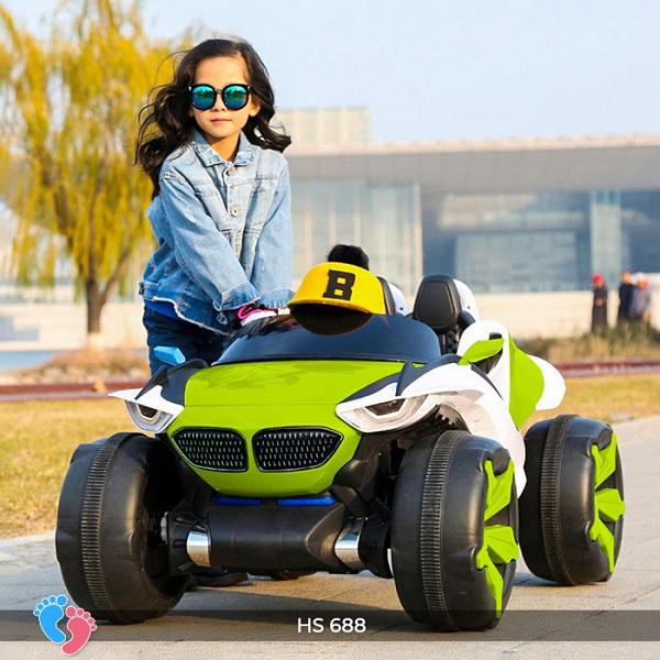 Xe điện địa hình cho bé XJL 688 Siêu Hot 4 động cơ