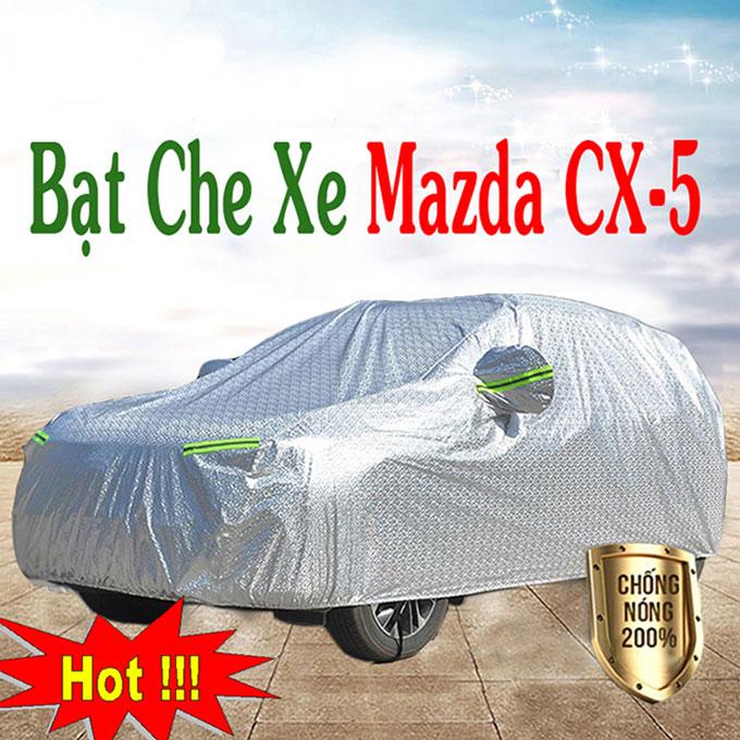 Bạt phủ Mazda Cx5 chỗ 3 Lớp Cao Cấp – Áo Trùm xe Chống Nóng Chống Thấm Tuyệt Đối